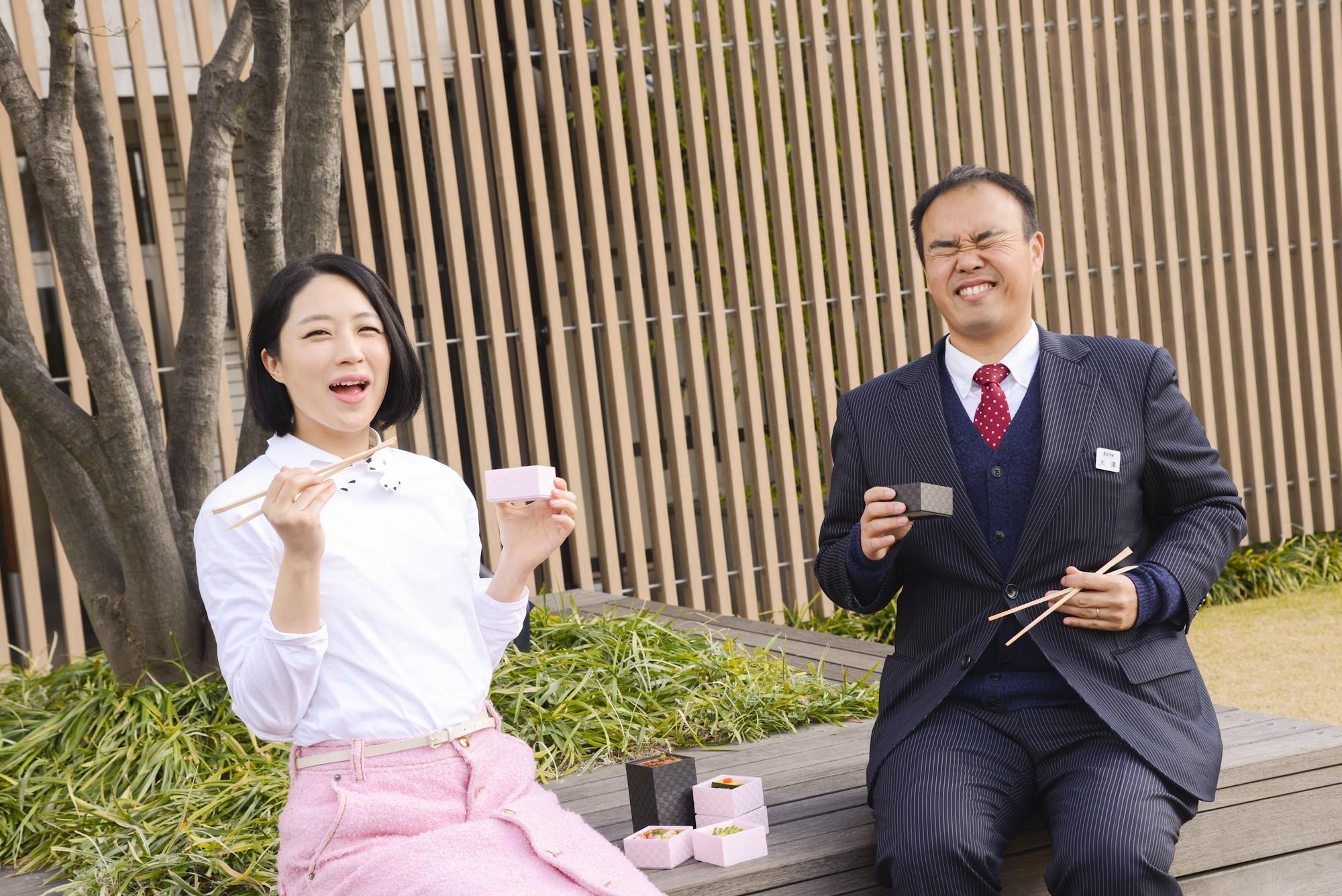 弁当美女? 犬山紙子さんと食べる、お花見弁当の新しいかたち_1