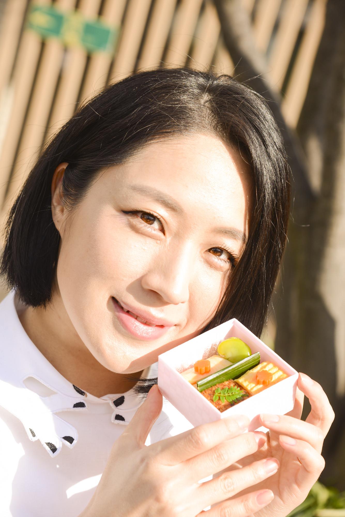 弁当美女? 犬山紙子さんと食べる、お花見弁当の新しいかたち_2