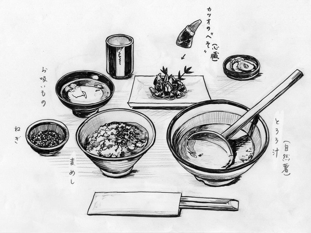 ローカルフード新紀行 第一回:静岡県 丸子のとろろ、焼津のカツオのへそ_1
