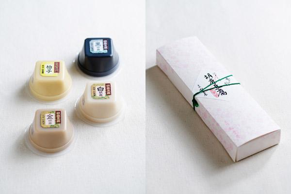 料亭の健康食<赤坂松葉屋>のひとくち胡麻豆腐の画像