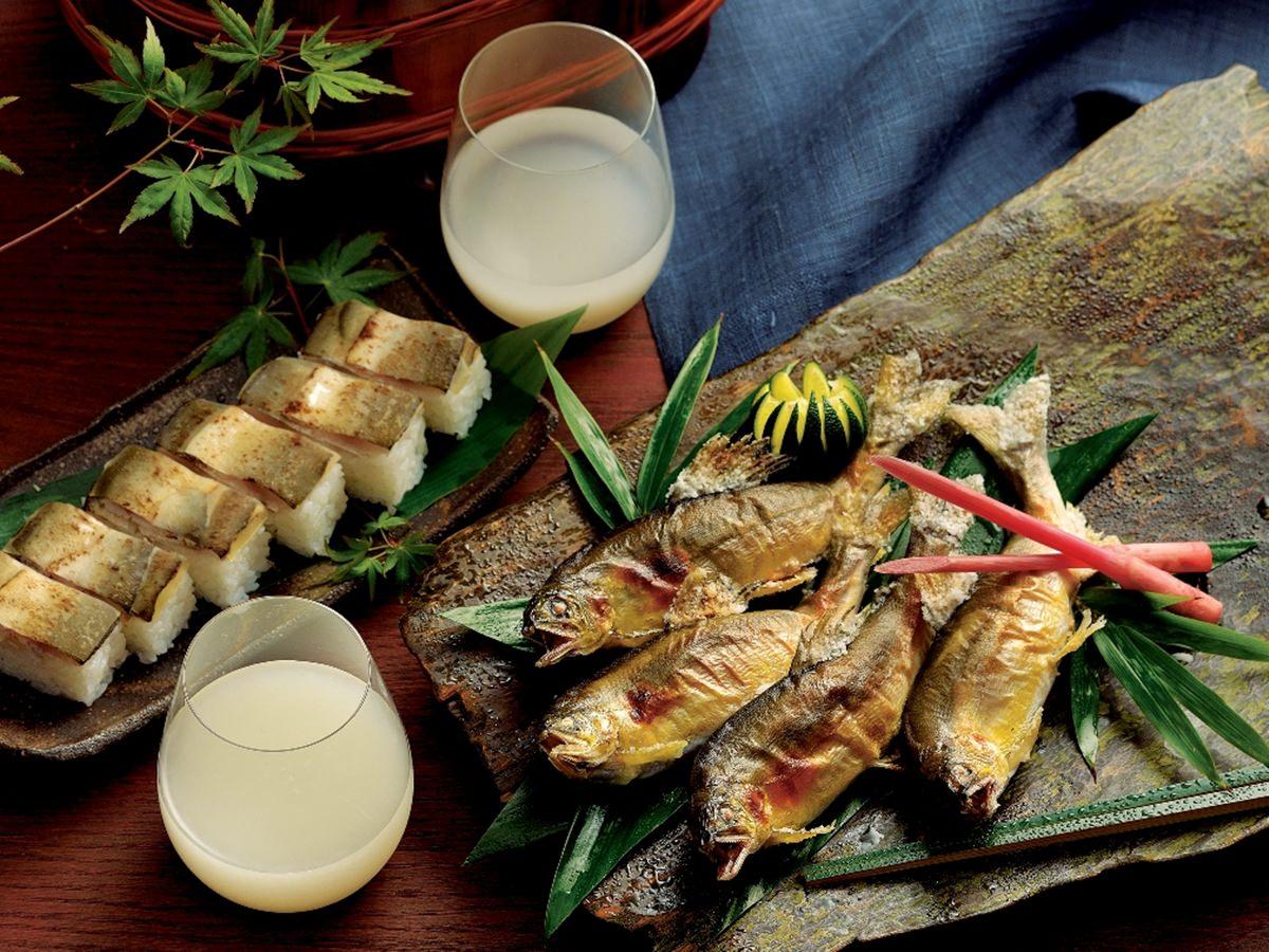 香る「鮎」とフレッシュな日本酒。初夏を彩る涼やかなマリアージュ
