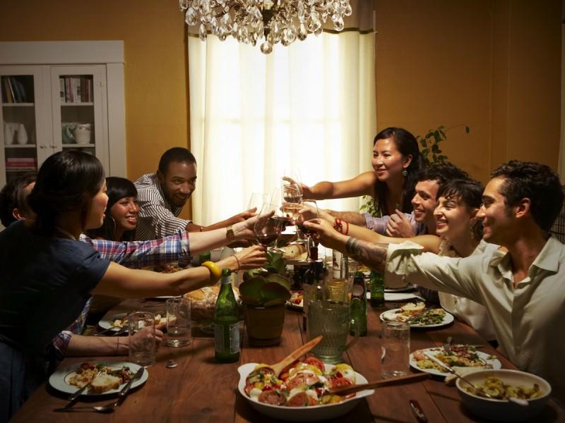 ホームパーティーのイメージ画像