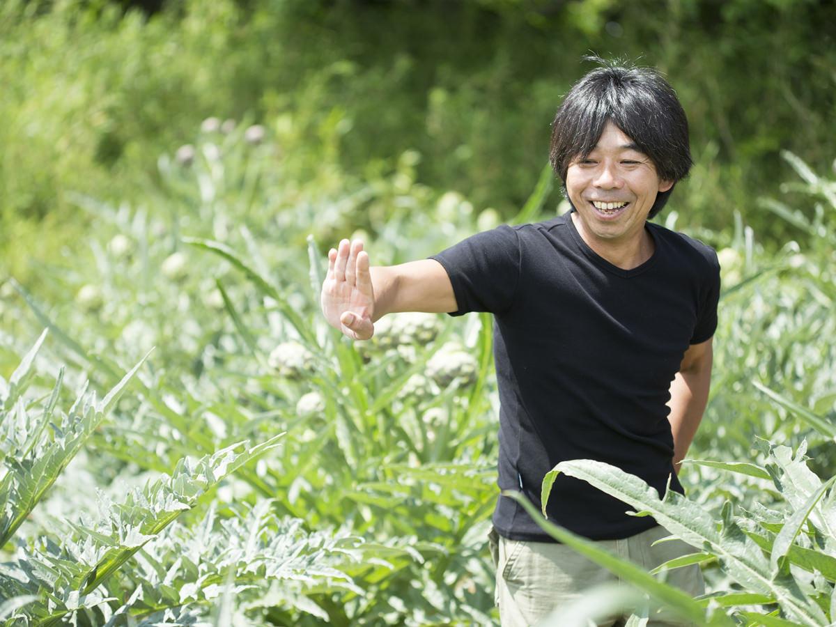TAKEI FARMの代表・武井敏信さんの画像