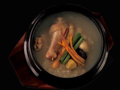 <柳香姫の台所 妻家房>おひとりさま参鶏湯の画像
