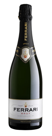 シャルドネ100%を使用したスプマンテ、<フェッラーリ> フェッラーリ・ブリュットの画像