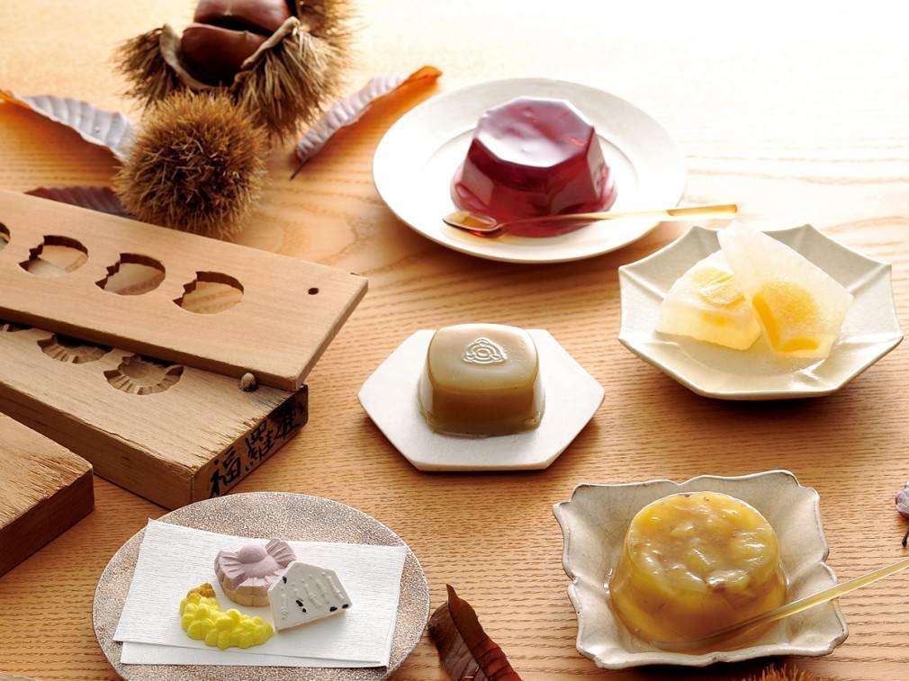 和菓子で感じる 一足早い『秋』の香り_01