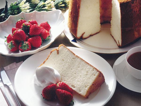 脂肪分ゼロのエンジェルフードケーキ