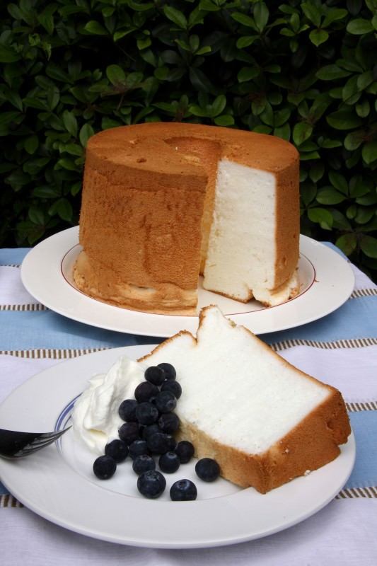 ヘルシースイーツ「エンジェルフードケーキ」」の画像