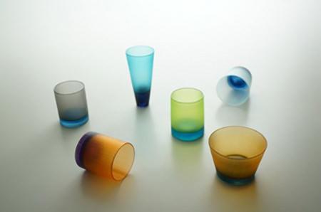 光井威善が作ったグラスとタンブラー