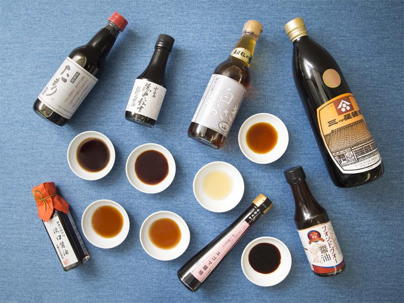 さまざまな醤油のイメージ