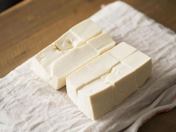 只管豆腐の切り方