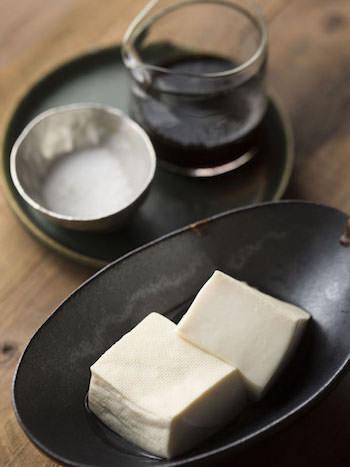 只管豆腐を使った湯豆腐の作り方(レシピ)