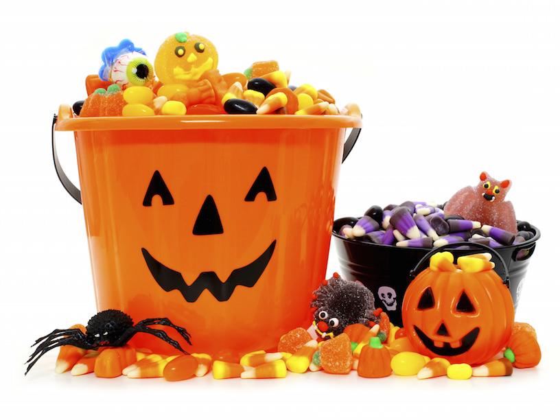 ハロウィンのお菓子のイメージ