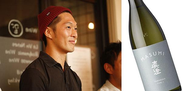 左:HANDREDのメンバー 宮坂醸造 右:MASUMI YAWARAKA TYPE-1