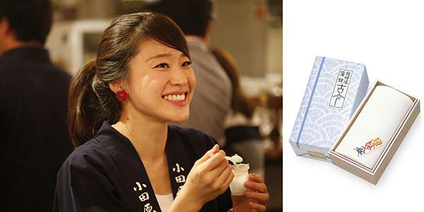 左:HANDREDメンバー 鈴廣かまぼこ 右:熟練の職人だけがつくることのできる、超特選蒲鉾 古今