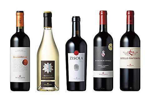 さまざまなイタリアンワイン