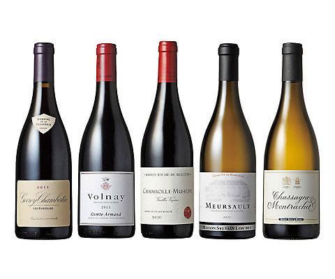 ジャスパー・モリス マスター・オブ・ワインが選ぶ フランス・ブルゴーニュ地方人気アペラアシオン 赤・白ワイン5本セット