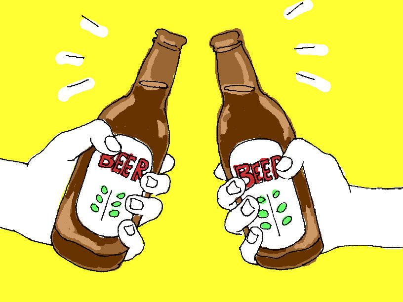 クラフトビールのイメージイラスト