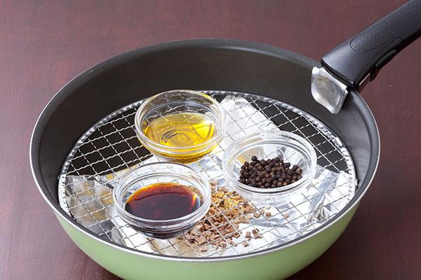 変わり種:醤油・黒こしょう・オリーブオイル