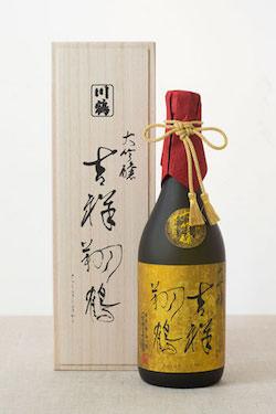 川鶴(かわつる)大吟醸 吉祥翔鶴(きっしょうしょうかく)