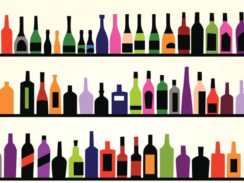 世界各国のお酒のイメージ