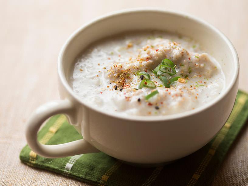 れんこんと生姜のあったかスープ