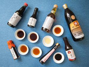 5つの種類の選び方&使い方。「お醤油」、基本のき