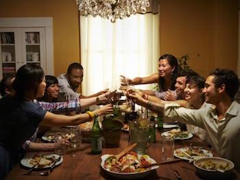 ホームパーティーのイメージ