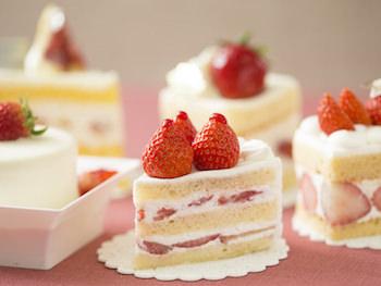 さまざまなショートケーキのイメージ