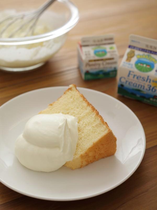 ケーキマニアが教える、 簡単!絶品!生クリームの作り方