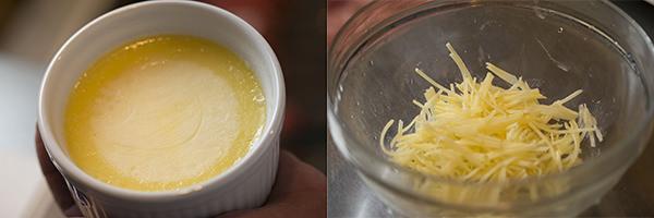 鴨肉のバルサミコソース りんごのソテー添えのレシピ。じゃがいものせん切りと澄ましバター
