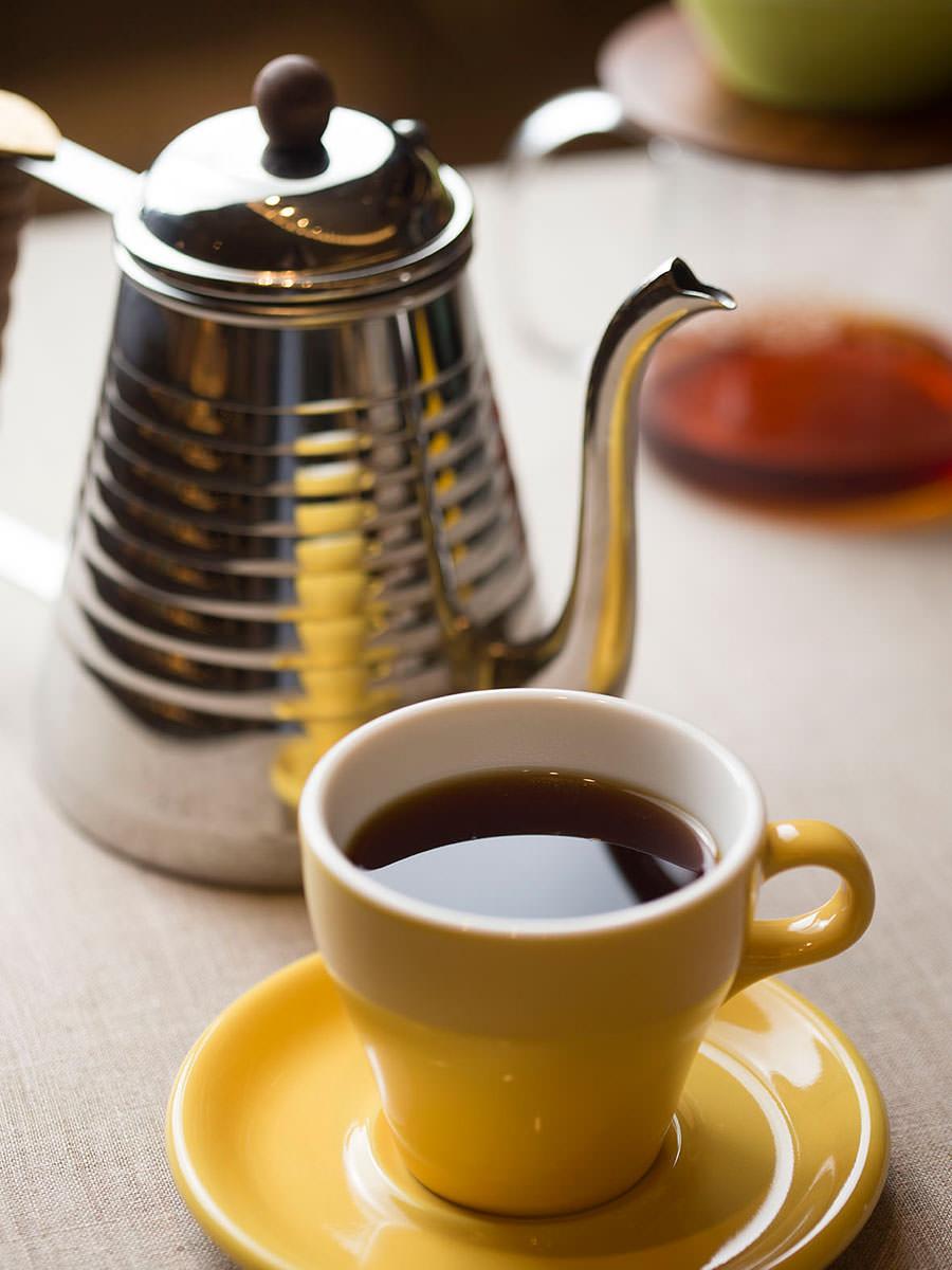 マグカップに入った北欧流コーヒー