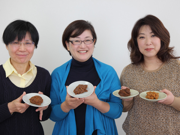小島先生、昌子さん、有紀さん