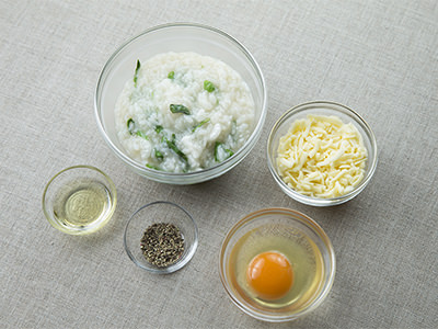 七草の包まないオムライスレシピ、材料