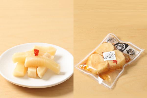 岸浅次郎商店の「大根の黒豆しょうゆ漬」