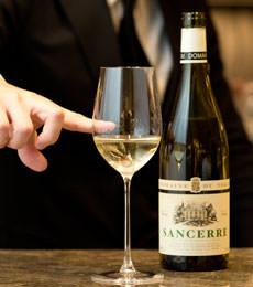 白ワインの適量