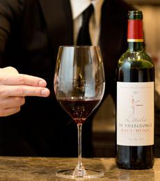 赤ワインの適量