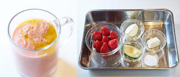 苺のデザートスムージー / 苺のデザートスムージーの材料