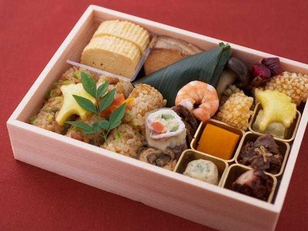 祇園 にしかわ 季節の折詰 3,240円(税込)