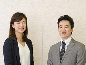 国分グループ本社・笹野直子さんと、マルハニチロ・松原正幸