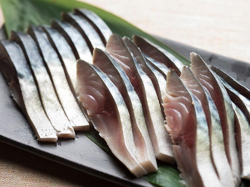 しめ鯖のレシピ、完成