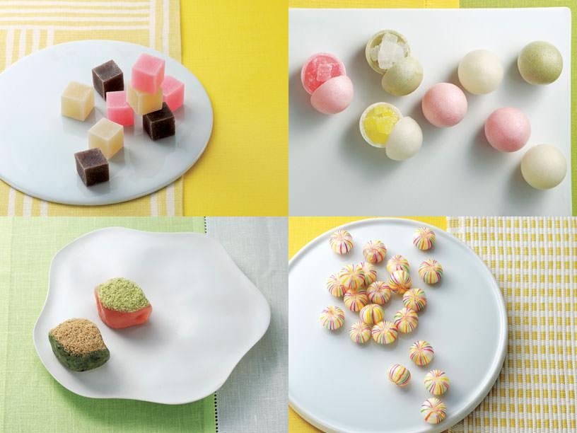 これぞ「和モダン」! 春を届けるカラフル&ポップな和菓子4選