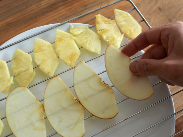ドライフルーツの作り方(りんご)