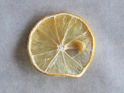 干し野菜、ドライフルーツの作り方④レモン