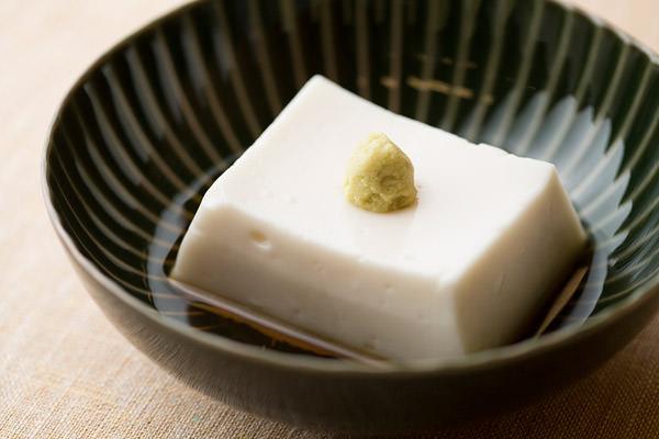 東京吉兆の胡麻豆腐