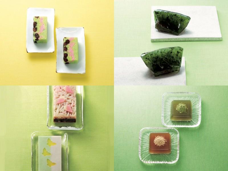 春らしく爽やかな緑を感じる和菓子4選