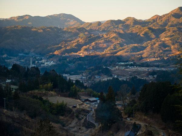 泰阜村の風景