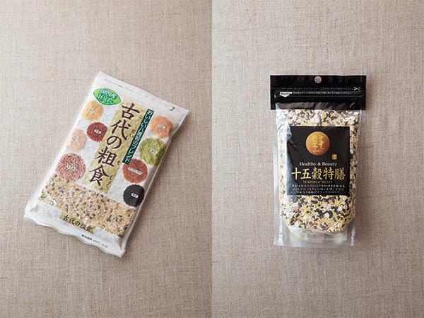 雑穀米の材料
