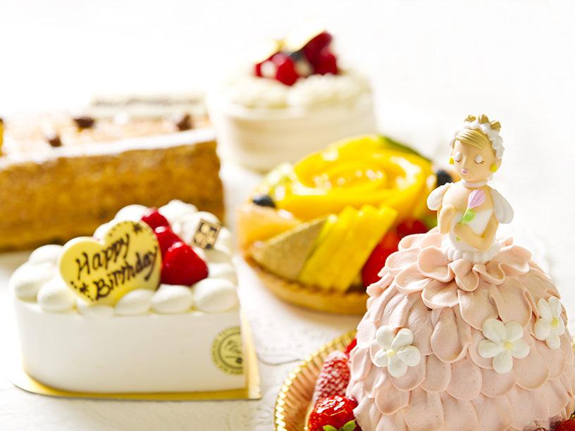 新宿で当日買えるホールの誕生日ケーキ