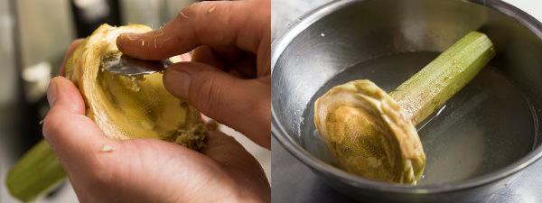 アーティチョークの調理方法